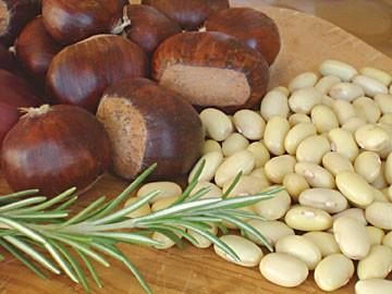 Funghi, fagioli e castagne, photo by Simona Carini