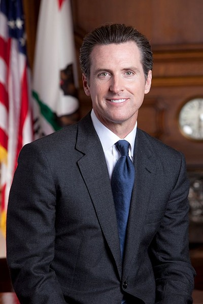 Lt. Gov. Gavin Newsom - WIKIPEDIA