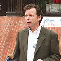 E Pluribus Eureka George Clark. Photo by Tony Snow, courtesy of George Clark campaign.