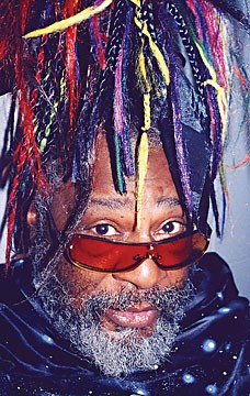 George Clinton and Parliament-Funkadelic Feb. 8 at the Mateel.