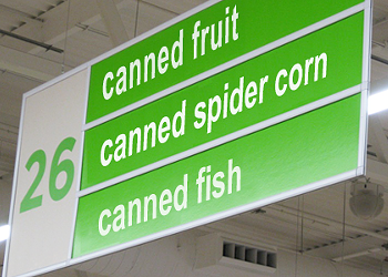 GMO Spider-Corn: