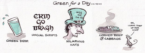 Green For A Day