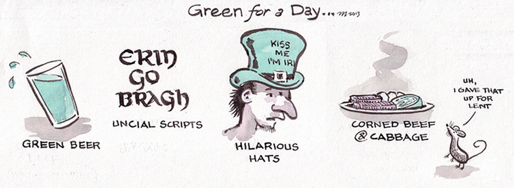 Green For A Day - JOEL MIELKE