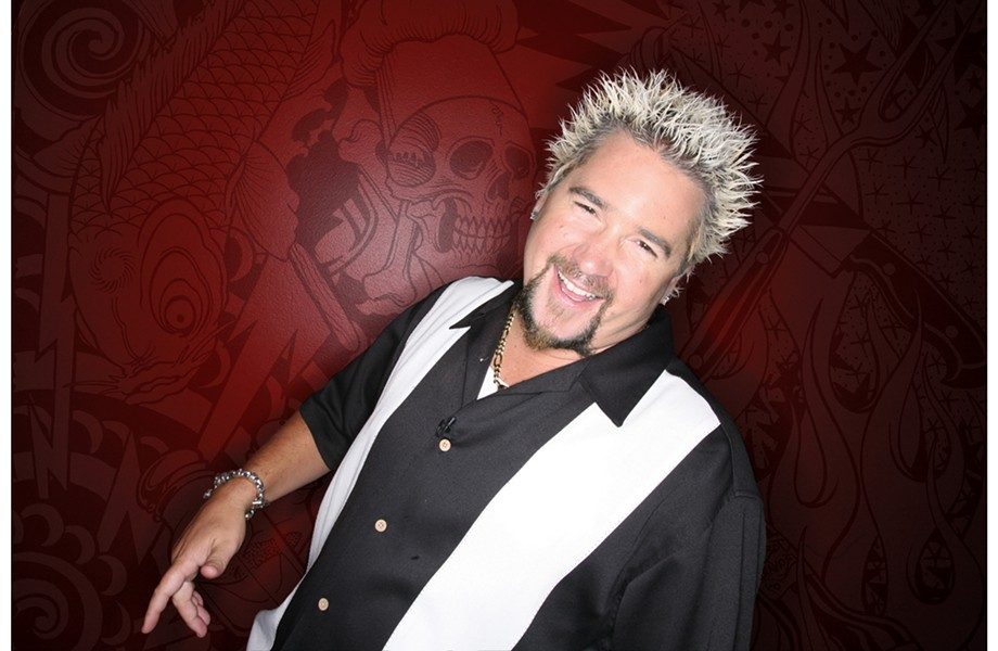 Guy Fieri - COURTESY OF FOOD NETWORK