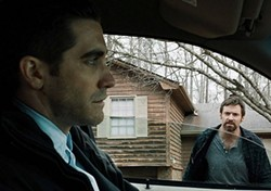 Gyllenhaal and Jackman: tense, unhinged and still smokin' hot.