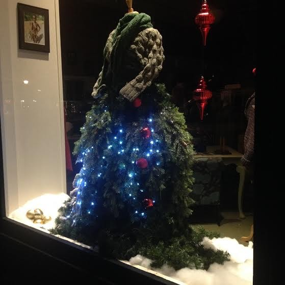 The Knittery's Christmas tree dress is so pretty. Maybe she can stay a little longer? - PHOTO BY HEIDI WALTERS