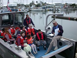 HUMBOLDT BAYKEEPER - Humboldt Baykeeper's volunteer docents lead ecology and history tours of Humboldt Bay