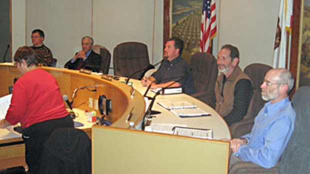 Humboldt County Planning Commission, photo by Ryan Burns