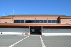 PHOTO BY GRANT SCOTT-GOFORTH - Humboldt County's Aviation Division, which operates the Arcata-Eureka Airport and five non-commercial airports, will have reached a nearly $1 million deficit by the end of this fiscal year.