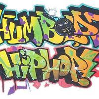"Humboldt Hip Hop graffiti art by Eureka artist/rapper Bryan ""Nac One"" Wallace."