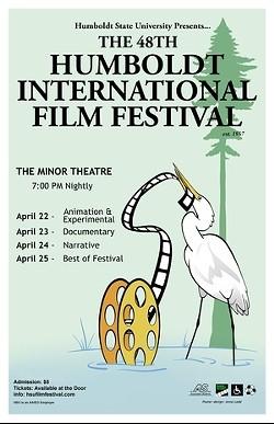 ANNA LADD - Humboldt Int'l Film Festival Poster
