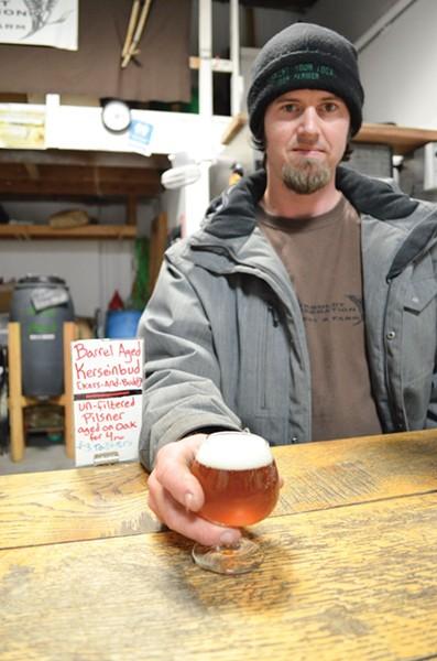 Humboldt Regeneration owner Jacob Pressey - PHOTO BY GRANT SCOTT-GOFORTH