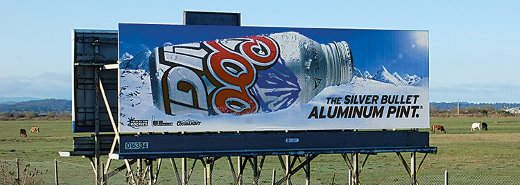 In case you missed it, the winner of our ugliest billboard contest. - PHOTO BY ANDREW GOFF