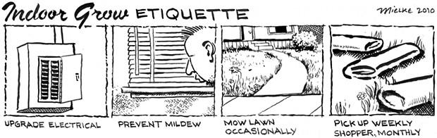 Indoor Grow Etiquette