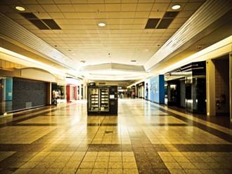 Inside the Bayshore mall.