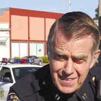 Fighting Demons Interim Eureka Police Chief Murl Harpham.