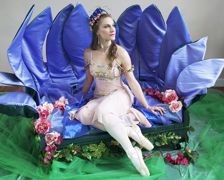 Iris Van Atta as Titania, the Fairy Queen - PHOTO BY CRYSTAL SOLEIL