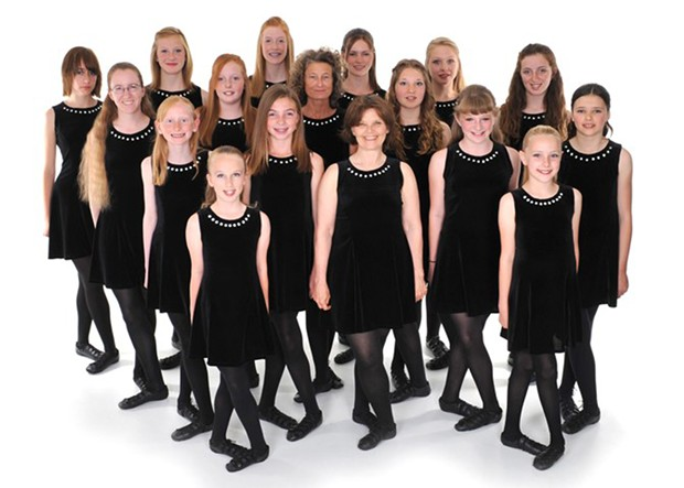 Irish Dancers from Studio of Dance Arts - COURTESY OF STUDIO OF DANCE ARTS