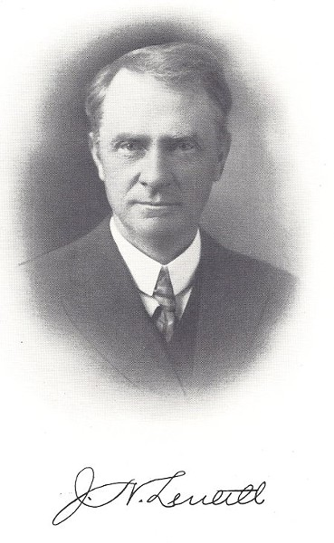 J. N. Lentell - FROM LEIGH IRVINE'S 1915 HISTORY OF HUMBOLDT COUNTY