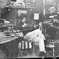 Jack Mays Photos Jack Mays in his Ferndale foundry, 1967. Photo courtesy The Ferndale Enterprise/Caroline Titus