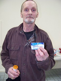 PHOTO BY HEIDI WALTERS. - Jacky lee Brown, a former meth and heroin addict, hopes his firsthand knowledge will inform the conversation on what to do about meth abuse.