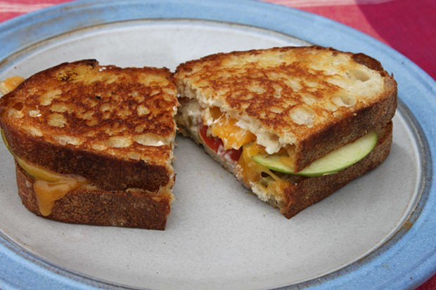 James' Grilled Cheese Dream - PHOTO BY JAMES SCOTHORN
