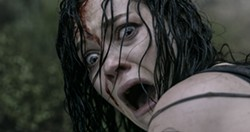 "Jane Levy gives us her ""Uh-Oh"" face in Evil Dead."