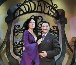 PHOTO COURTESY OF FERNDALE REPERTORY THEATRE. - Jessi Sheiman and Christopher Moreno.