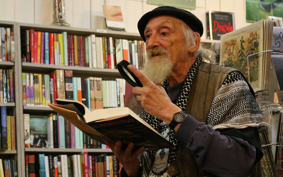 John Ross at Northtown Books - PHOTO BY BOB DORAN