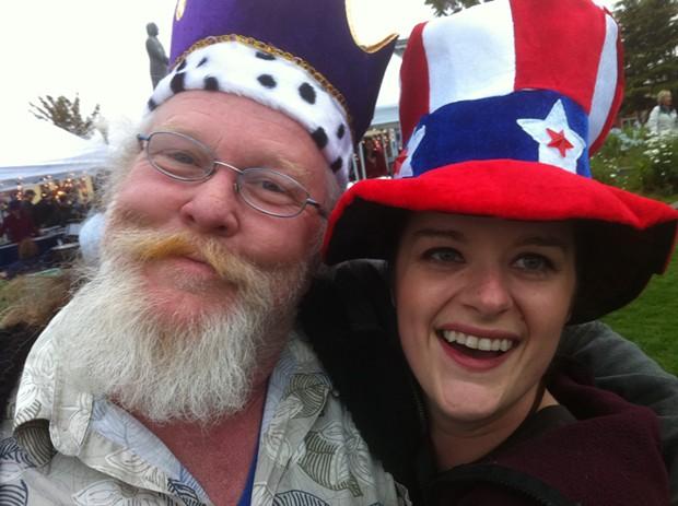 Johnny Berrypicker and Annie Oxidant - PHOTO BY BOB DORAN