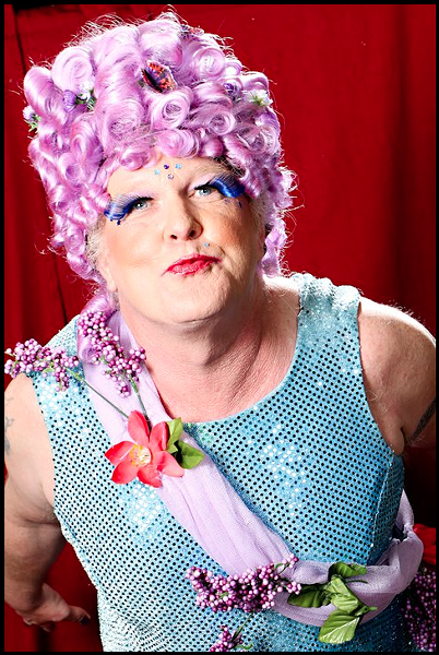 Johnny BerryPicker as Rutabaga Princess, 2011 - TERRENCE MCNALLY/ARCATA PHOTO STUDIO