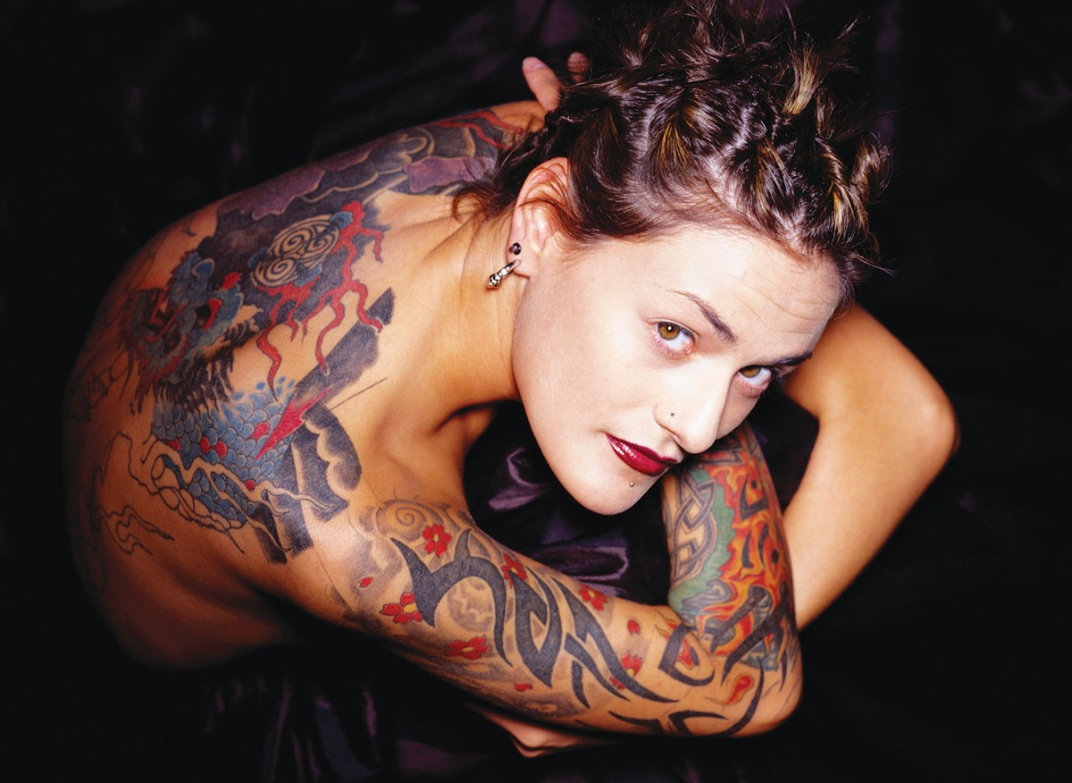 EVIDENCE THAT NOT ALL NECK TATOOS ARE UGLY.