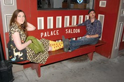 Katie and Andy at The Palace - PHOTO BY ANDREW GOFF