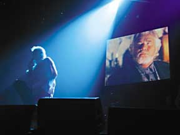 Kenny Rogers performs at the Arkley Center for the Performing Arts. Photo by Bob Doran.