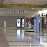 Mall Town Kohl's sign will no longer be dark come opening day on Sept. 27. Photo by Heidi Walters