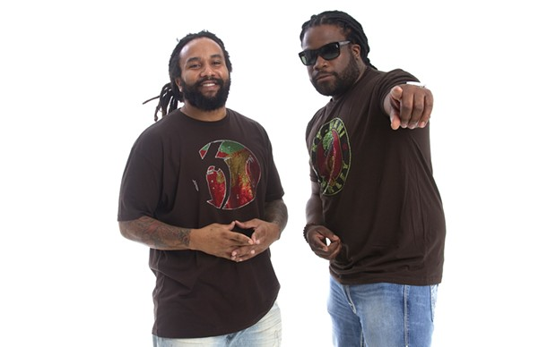 Ky-Mani Marley and Gramps Morgan