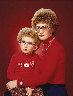 "COURTESY OF THE MORRIS GRAVES MUSEUM OF ART. - ""Like Mother, Like Daughter"" is included in the Awkward Family photos exhibit."