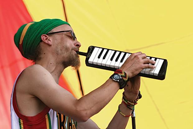Lion Camp Showcase includes Rocker T. Photo by Bob Doran.