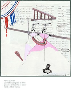 'Llama Longing No. 8' by Karen Sullivan