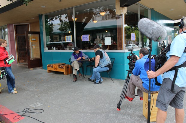 An upcoming episode of American Ride is slated to focus on Humboldt County's logging past and feature local historian Ray Hillman. - THADEUS GREENSON