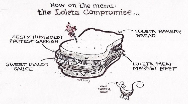 Loleta Sandwich - JOEL MIELKE
