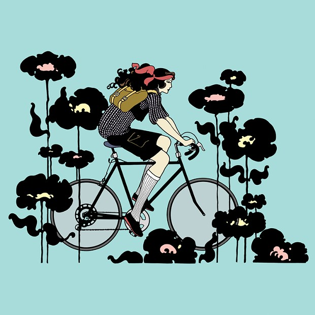 Long May You Bike - THINKSTOCK ILLUSTRATION