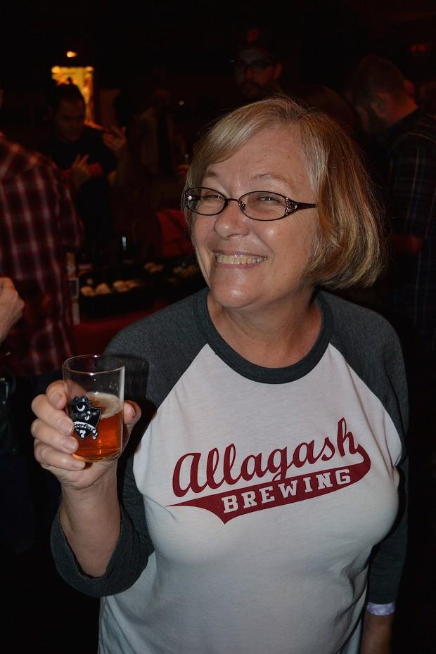 Denise Burns likes beer. - PHOTO BY HEIDI WALTERS