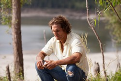 """Man, my cuticles are ruined."" McConaughey in Mud."