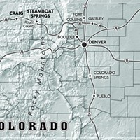 Ground Game Map of Colorado