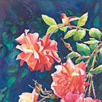 Wild Visions 'Margann's Roses' by Linda Parkinson.