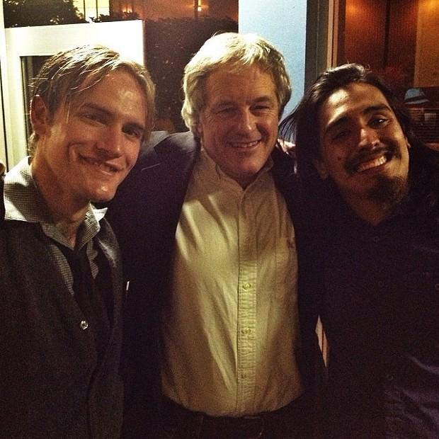 Mark Teeter, Steve Cunha and Luke Tooker, - BOB DORAN