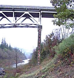 Martin's Ferry Bridge. Photo courtesy Humboldt County Public Works.