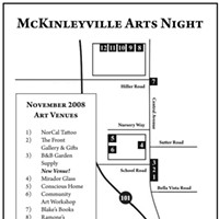 Third Friday McKinleyville Arts Night McKinleyville Arts Night Map, Nov. 2008