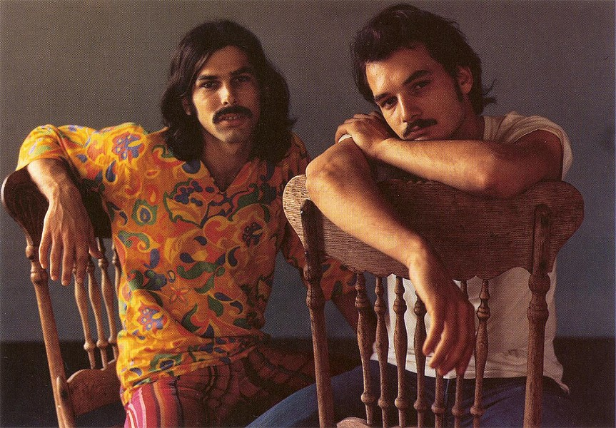 Mickey Hart and Bill Kreutzmann, 1969 - COURTESY OF ZOOOMABOOMA